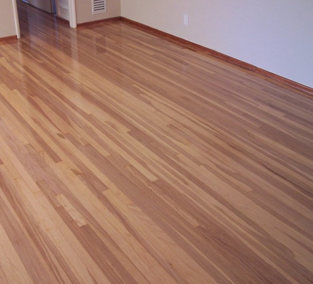 Laminate flooring semi gloss laminate flooring for Wood floor finishes