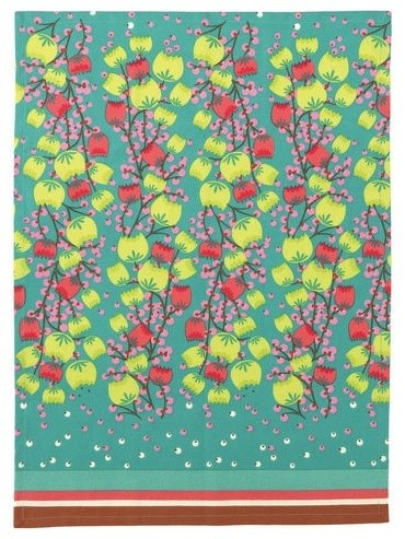 Tulip Fields Kitchen Towel contemporary-dish-towels