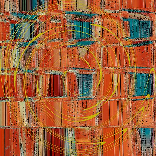 City Graffiti by Ben and Raisa Gertsberg - canvas art, art print, giclee modern-artwork