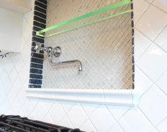 LED Glass Shelf modern-kitchen