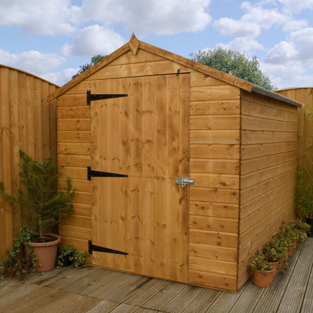 Sheds ottors 4 x 6 wood storage shed for Garden shed 6 x 4 cheap