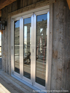 Aluminum Clad Bifold Doors Modern Windows And Doors Vancouver By Dynamic Architectural