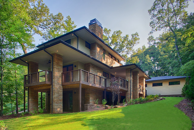 Modern prairie homes atlanta modern atlanta by epic for Modern prairie style homes