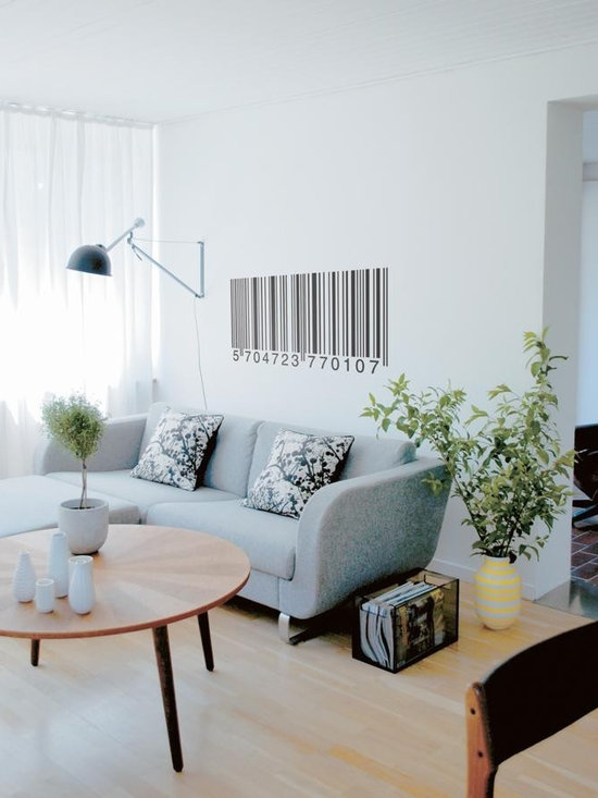 Ferm Living Barcode WallSticker - With Ferm Living WallStickers it is easy to create a new look and change the style in a room in a matter of minutes. By using WallStickers, your kids can also help decorate their own room in an array of colors.