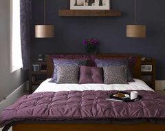 blue bedroom eclectic-bedroom