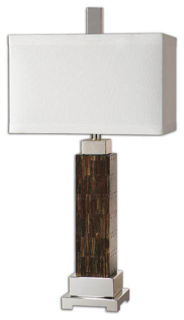 Kenova Mosaic Table Lamp traditional-table-lamps