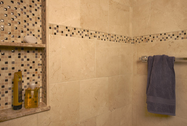 Contemporary Bathroom Tile contemporary-tile