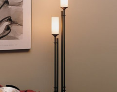 Metra Twin Buffet Lamp by Hubbardton Forge contemporary-table-lamps