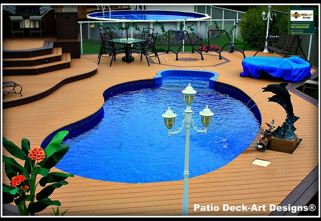 PATIO DECK-ART DESIGNS OUTDOOR LIVING traditional-deck
