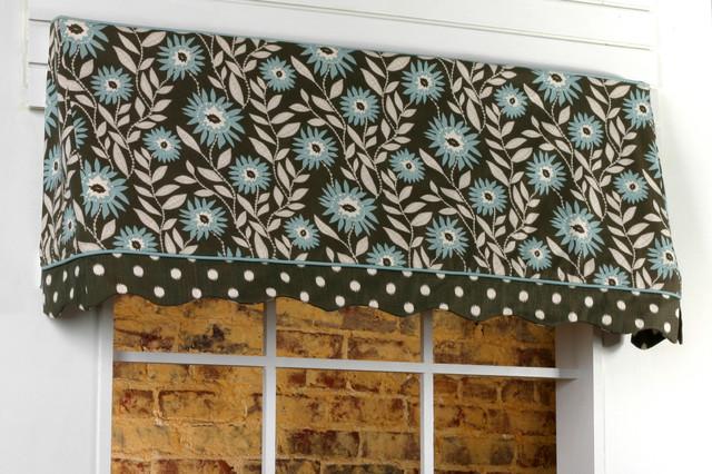 Sadie Valance Sewing Pattern - Curtains - birmingham - by Pate Meadows Designs