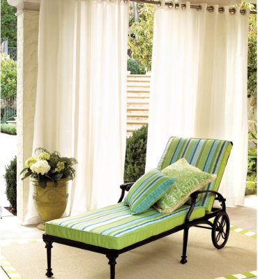Indoor/Outdoor Curtains - traditional - outdoor decor - - by ...