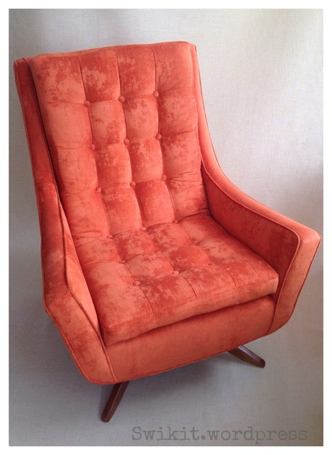C. Arsenault Residence midcentury-armchairs-and-accent-chairs