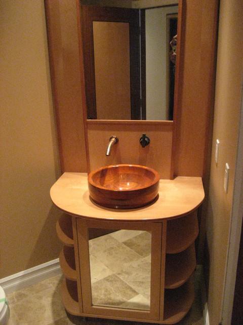 Toronto Street Condo Modern Bathroom Vanities And Sink Consoles Toronto By F H M