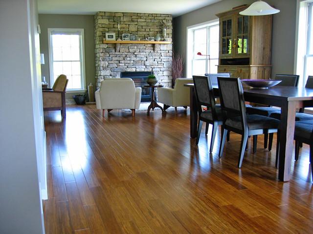 Strand carbonized bamboo hardwood flooring other metro Carbonized strand bamboo flooring reviews