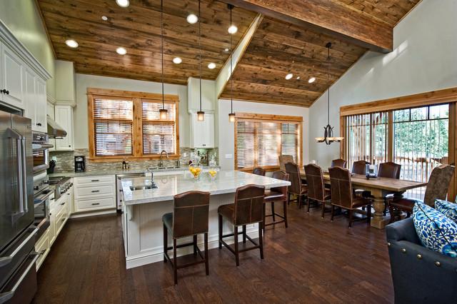Schaffer's Mill In Tahoe, California contemporary-kitchen