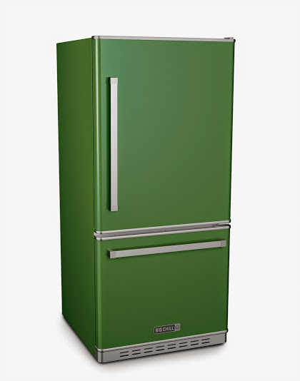 Big Chill Pro Fridge in Basil Green - Refrigerators - denver - by Big Chill