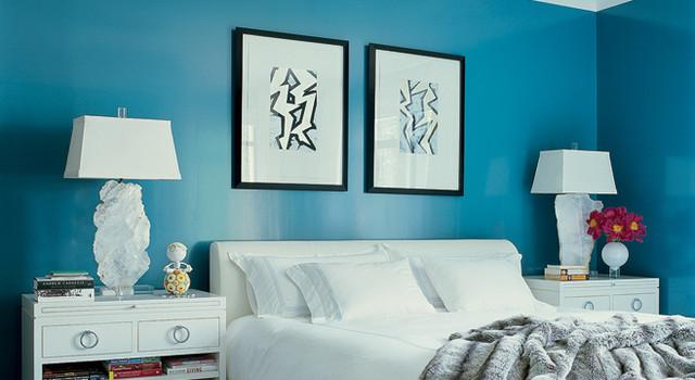 turquoise + white