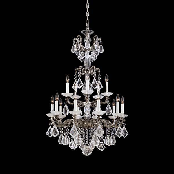 Schonbek Swarovski Lighting 5411 La Scala Rock Crystal 12
