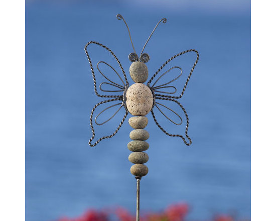 Butterfly Stake - Wire & Stone -