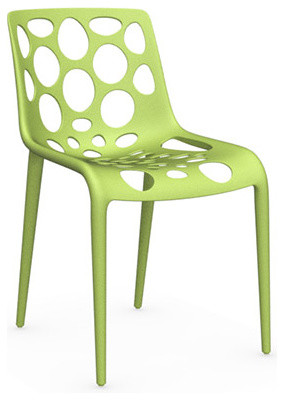 Hero Chair, Light Green, Set of 2 modern-dining-chairs