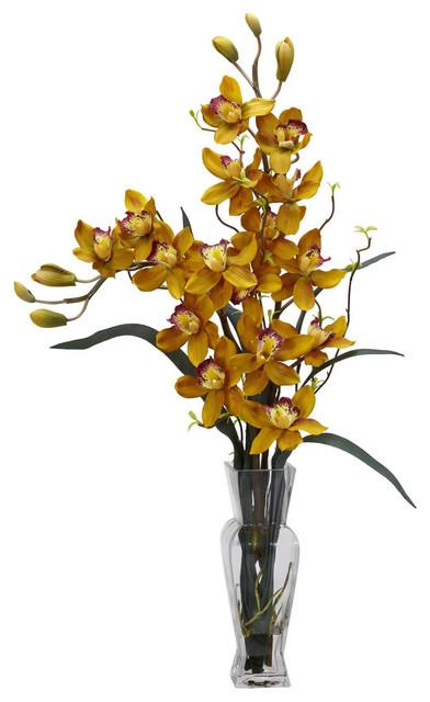 Orchid Silk Flower Arrangements