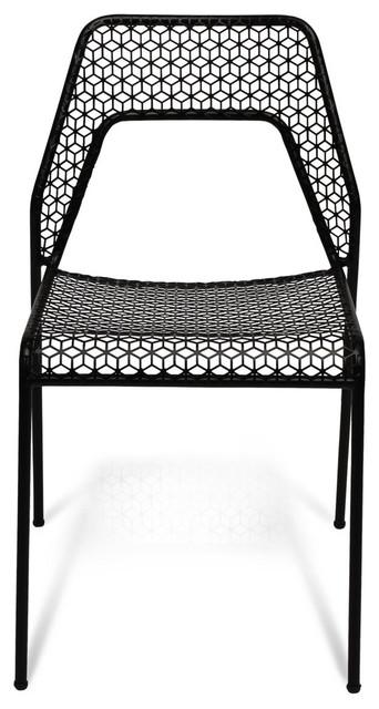 Blu Dot Hot Mesh Chair, Black modern-dining-chairs