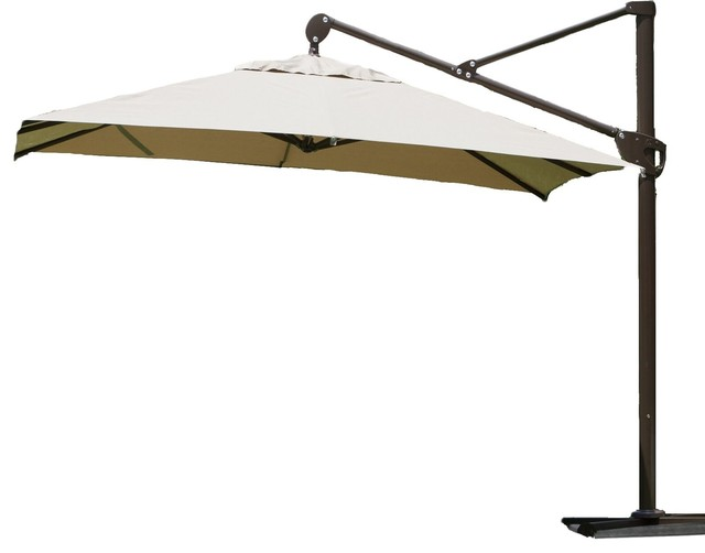 Abba Patio 11 Ft Offset Cantilever Umbrella With Vertical