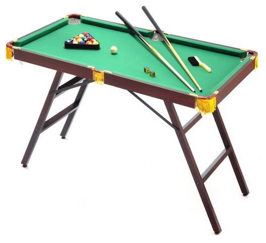 "48"" Mini Pool Table with Accessories - Traditional - Kids Toys And Games - by ..."