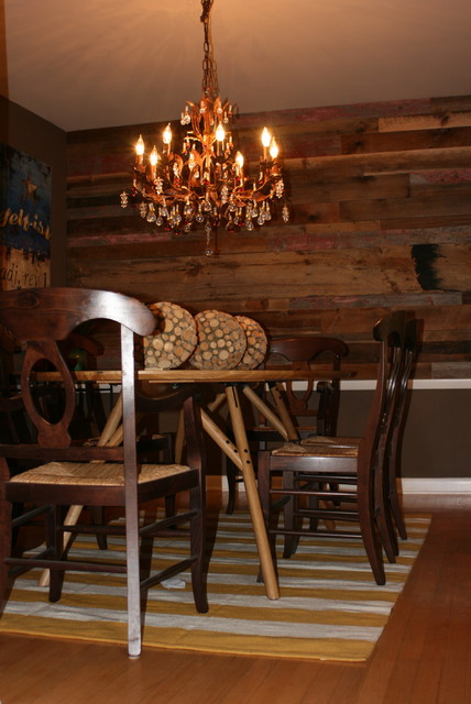 Dining Room Wall Art Rustic chicago by Modern Urban  : rustic from www.houzz.com size 428 x 640 jpeg 73kB