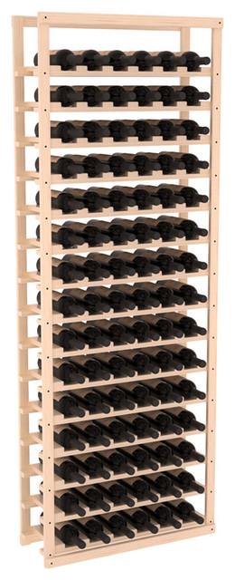 Baker Style Wine Rack Kit in Pine, Satin Finish contemporary-wine-racks