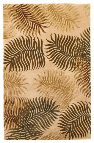 Kas Rugs Havana 2622 - Natural Fern View tropical-rugs