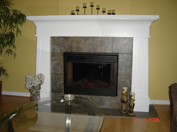 painted fireplace mantel modern indoor fireplaces