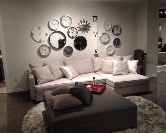 Toronto Showroom 2014 - Our Crosby Sectional in one of our many room settings in our Toronto Showroom.