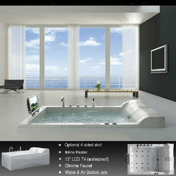 Whirlpool Tubs Modern Bathtubs Boston By Aquapeutics