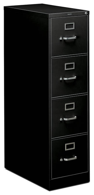 HON 310 Series Vertical File - 4 Drawer, Letter contemporary-filing-cabinets