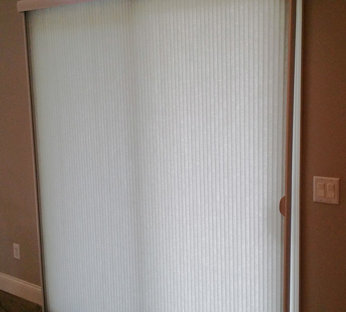 Cellular Shades For Vertical Blinds by Bellagio WIndow Fashions Toledo OH