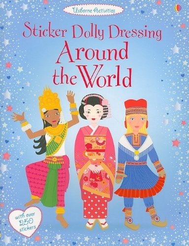 Sticker Dolly Dressing Around the World contemporary-kids-toys-and-games