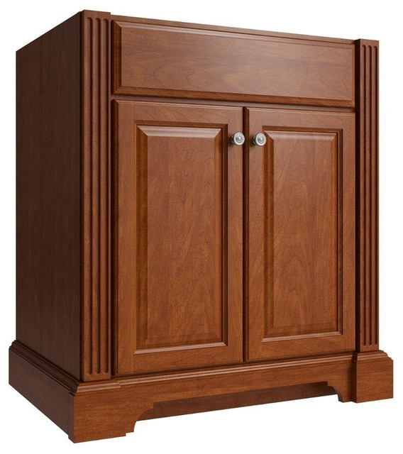 Cardell Cabinets Exeter 30 In W X 21 In D X 34 5 In H Vanity Cabinet Only In Contemporary