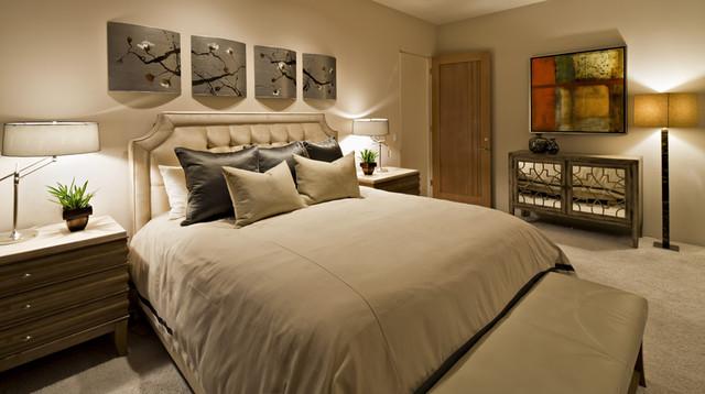 Schwab Luxury Homes and Interiors eclectic-bedroom
