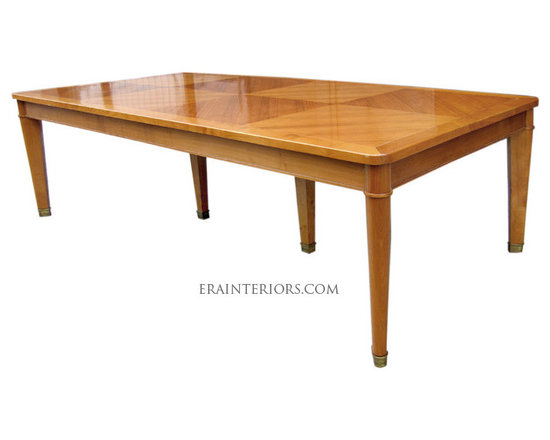 Andre Arbus Dining Table with Brass Feet -