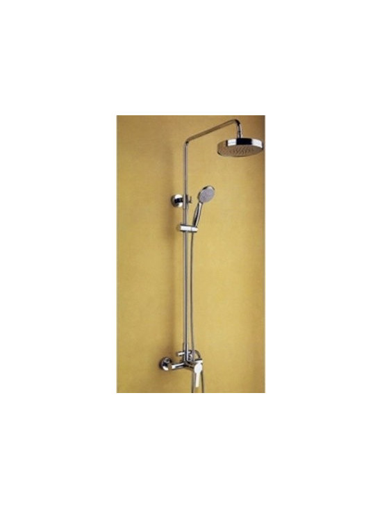 Shower Faucets - Chrome Finish Rainfall Shower Faucet--FaucetSuperDeal.com