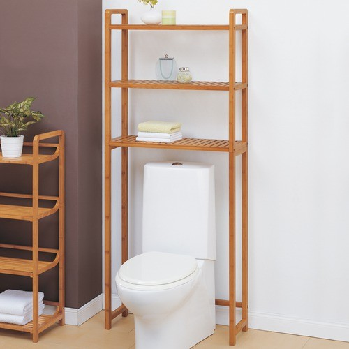 Lohas Spacesaver in Caramel modern-bathroom-cabinets-and-shelves