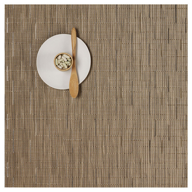 Chilewich - Bamboo Square Placemat, Set of 4 contemporary table linens