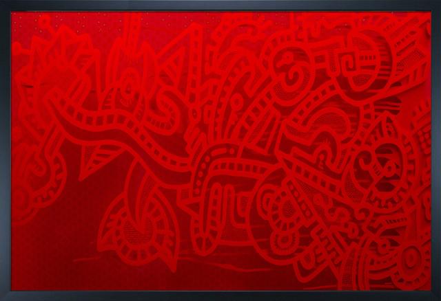"Ugo Nonis - Premier with Studio Black Wood Frame 24""X36"" Oil Painting modern-artwork"