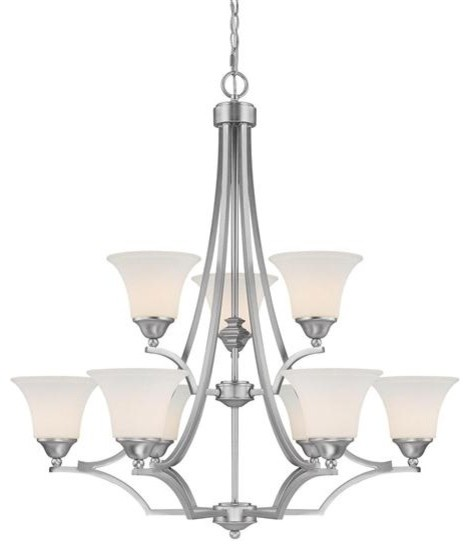 Capital Lighting 4029MN-114 9 Light Chandelier Towne & Country Collection chandeliers