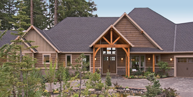 Landscape Timbers Portland Or : Timbers edge traditional portland by alan mascord design