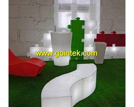 glowing LED chair,Glow casino chair -