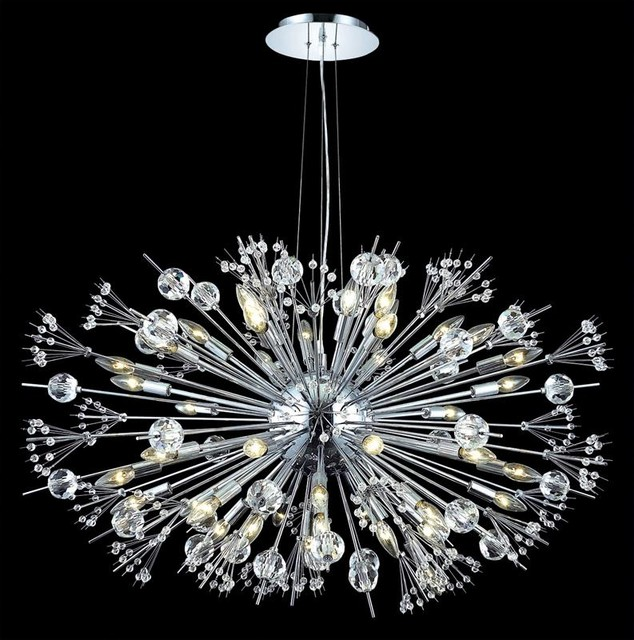 Elegant Foyer Chandelier : Elegant lighting cyclone collection light crystal