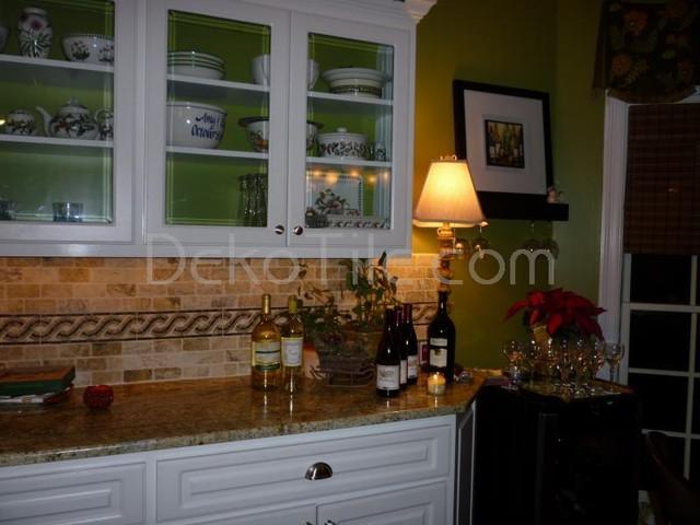 Kitchen Renovation - Backsplash mediterranean-tile