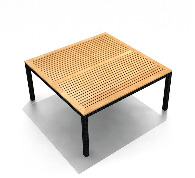 Modern Square Dining Table : contemporary outdoor dining tables from hwiki.us size 640 x 586 jpeg 64kB